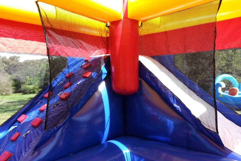 Ball Pit Jumping Castle Combo