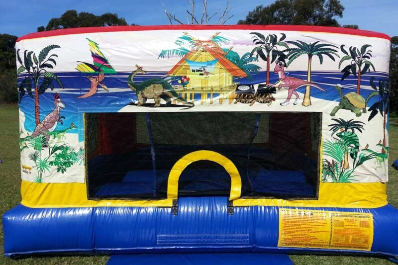 Dino Party Jumping Castle