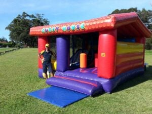 Cubby House Jumping Castle Combo