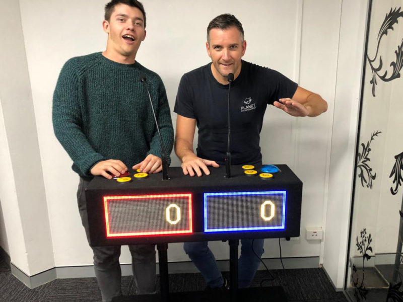 2 Player Quiz Game