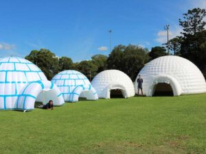 Inflatable Ice Igloo