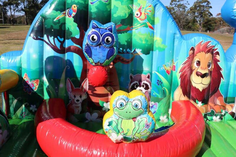 Animal Kingdom Jumping Castle Combo
