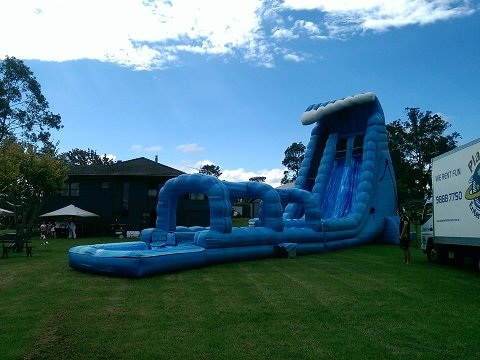 Atomic Drop Wet Slide Hire