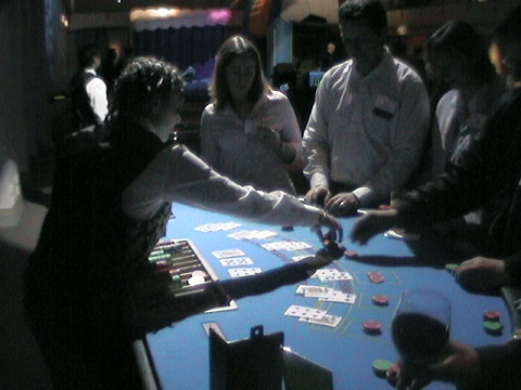 Blackjack table hire Sydney