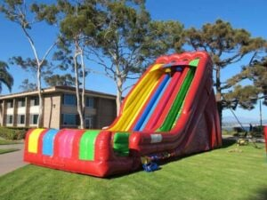Candy Crush Giant Slide Hire Sydney