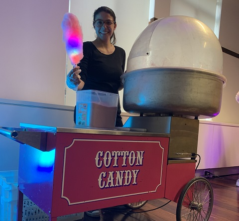 Hire Operated Fairy Floss Cart Sydney
