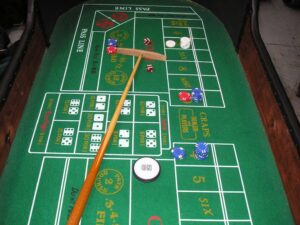 Deluxe Craps Table
