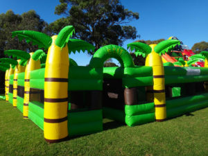 Jungle Maze Obstacle Course