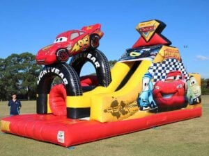Cars Challenge Obstacle Course