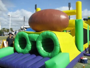 Footy Challenge Obstacle Course