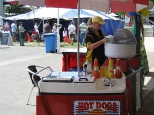 Hot Dog Cart – Gas