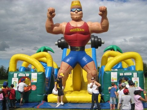 Inflatable Obstacle Course Hire Sydney