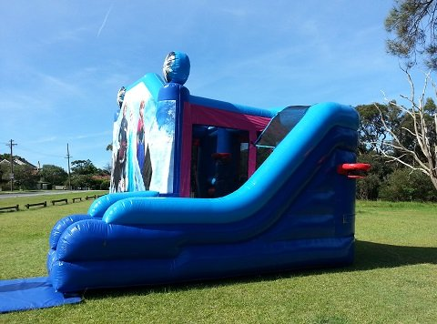 Disney Frozen Combo Castle Hire Sydney
