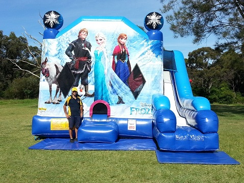 Disney Frozen Castle Hire