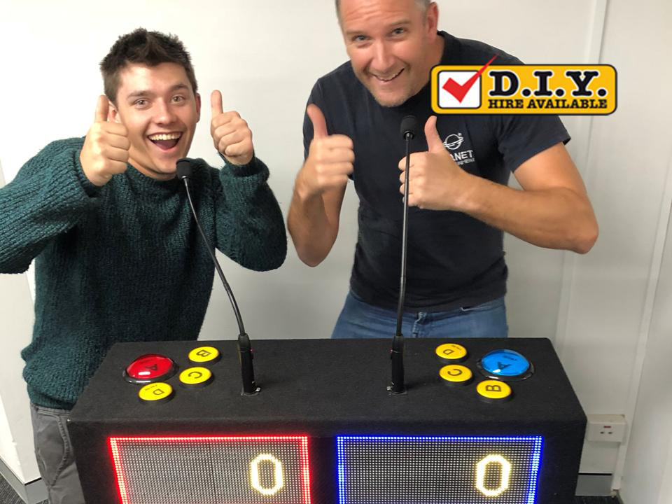 Game Show 2 player quiz