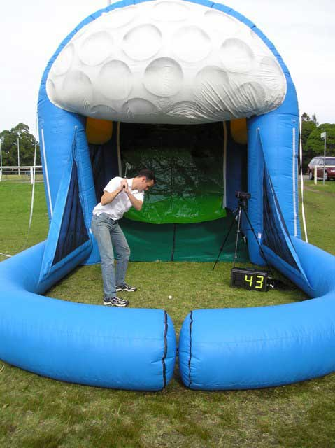 Inflatable Sports Cage