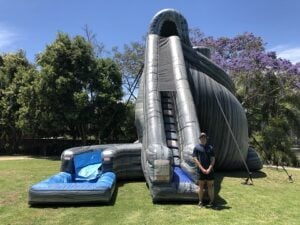 Hurricane Giant Waterslide Hire