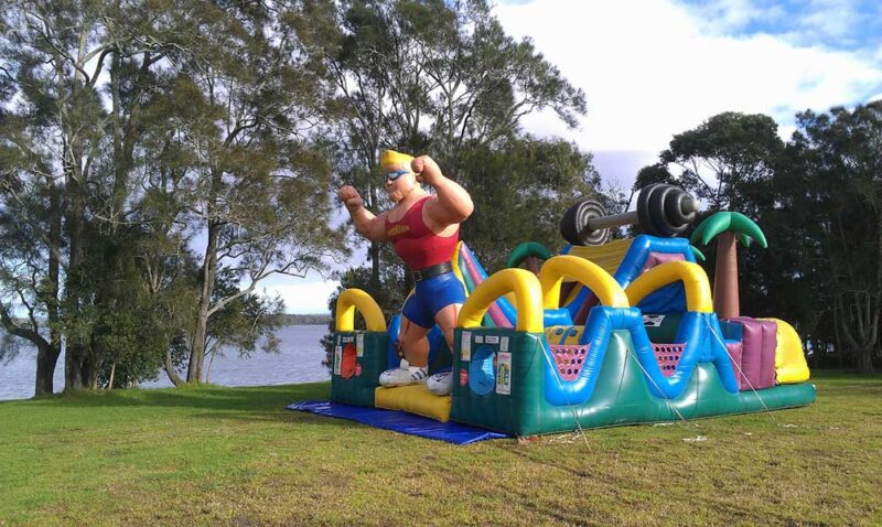Ironman Challenge Obstacle Course