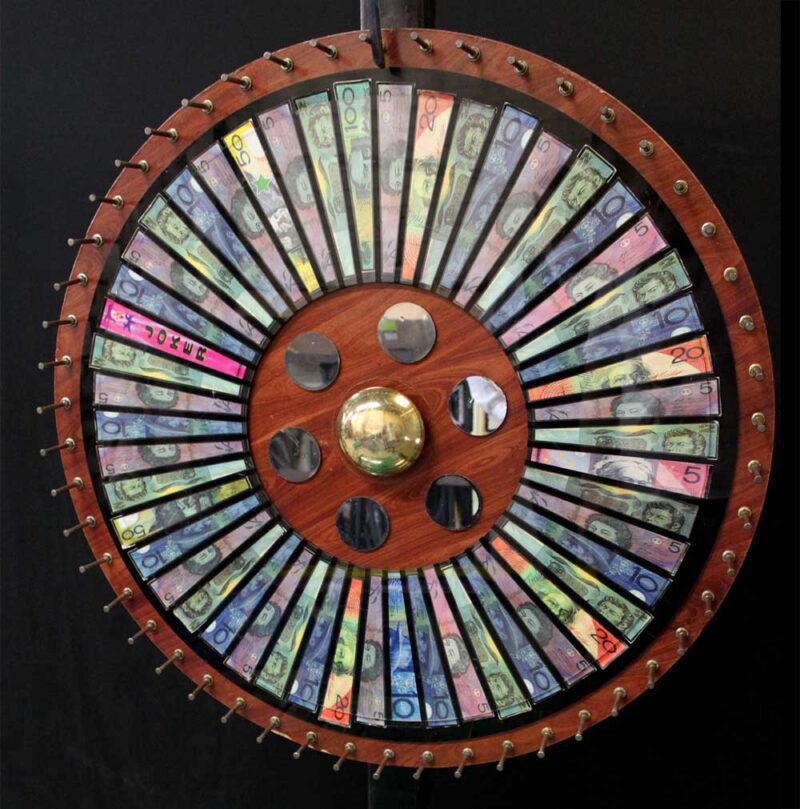 Spinning Money Wheel