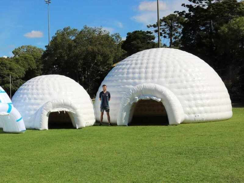 Inflatable White Igloo