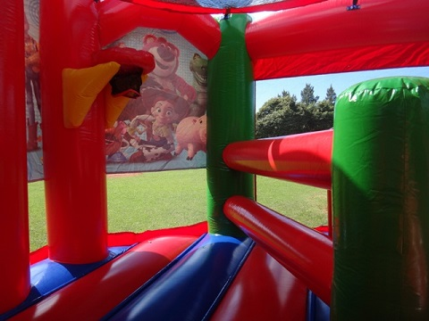 Toy Story Jumping Castle Combo Hire Sydney