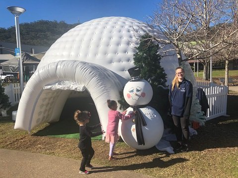 Igloo Inflatable Hire Sydney