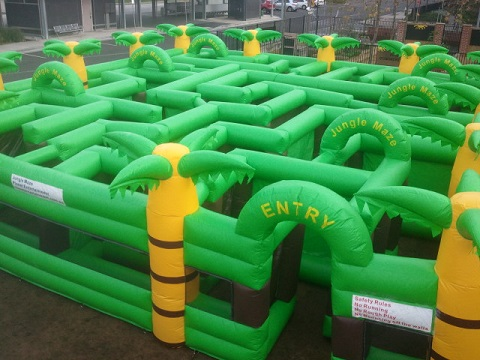 Inflatable Maze Hire