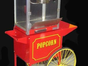 Popcorn Machine & Cart