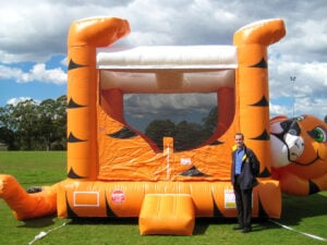 Tiger Belly Jumping Castle