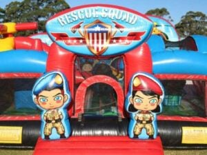 Rescue Squad Jumping Castle Combo