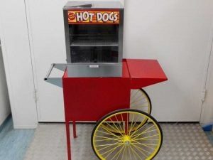 Hot Dog Steamer Retro Cart