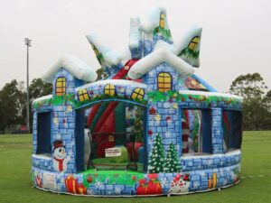 Winter Wonderland Combo Castle Hire Sydney
