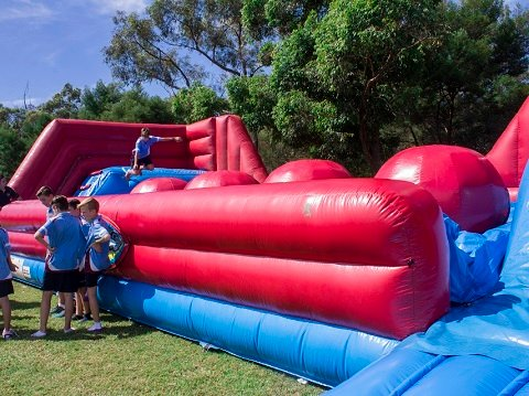 Big Ball Wipeout Hire Sydney