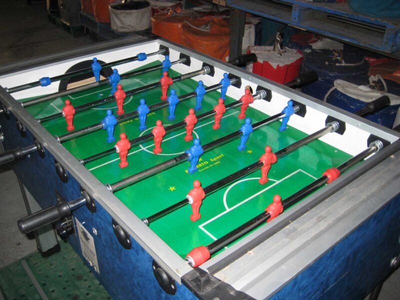Foosball – Table Soccer No Glass