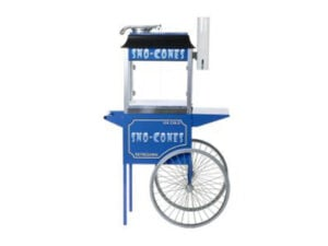 snow cones retro cart