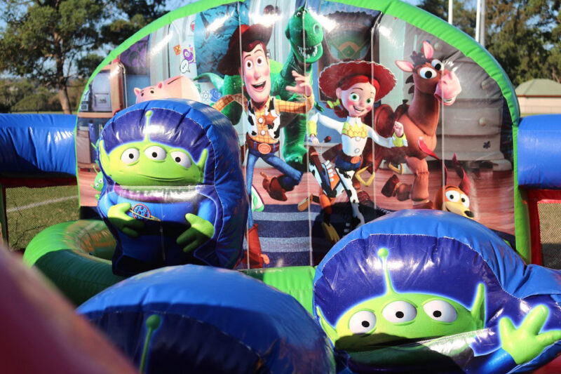Toy Story Toddle Castle Hire Sydney