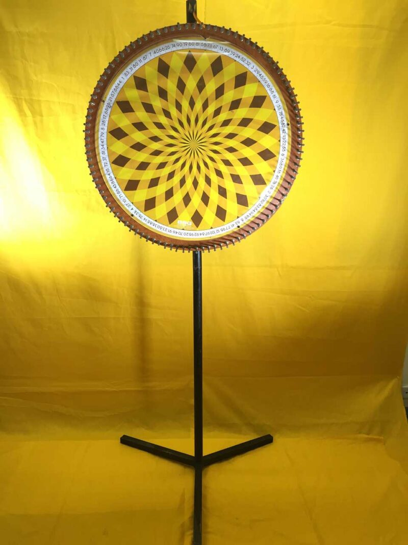 Chocolate Wheel – Yellow 1-100