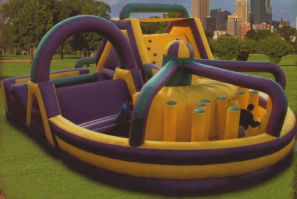 Mega Olympic Obstacle Course
