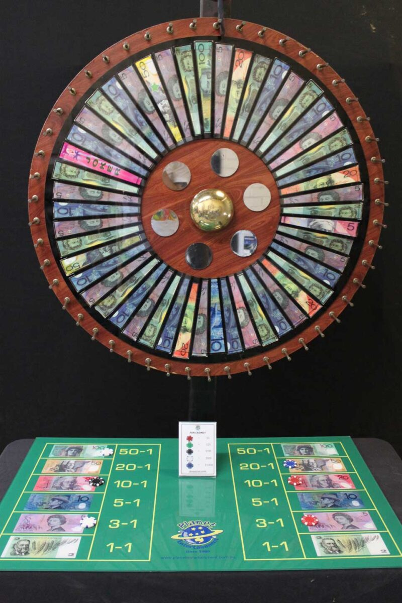 Deluxe Money Wheel