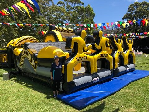 Ninja Run Obstacle Course Hire Sydney